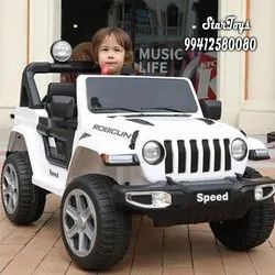Red,White And Yellow 12v 7ah Kids Ride On Jeep