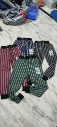 Cotton Printed Strip Pyjama