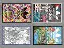 Heat Transfer D. T. F Multicolor Labels