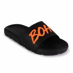 Black Eva Sliders, Size: 6-10