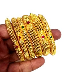 Wedding Golden Casting bangle