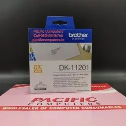 Brother DK-11201 Label Roll  Black on White 29mm x 90mm