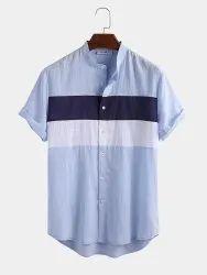 Maitrik Cotton Mens Printed Shirt