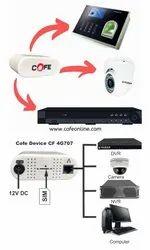 Wireless or Wi-Fi White COFE CF4G 707 WIFI ROUTER, Upto300 Mbps