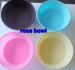 Ambica Plastic Rose bowl, For Home, Size: 6inch