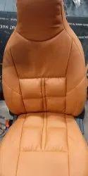 黑色皮革汽车座椅盖