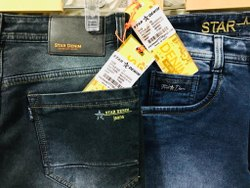 Denim Faded Mens Jeans