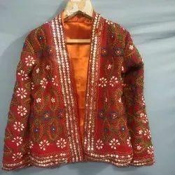 Handmade Phulkari Jacket