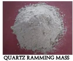 White Silica Ramming Mass, Packaging Type: Packet, Grade: Supper