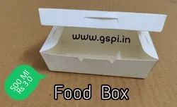 Square Food Box Paper With Lid
