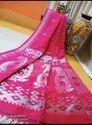 Organic Linen Handweived Sarees