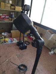 24v -230 Round Cnc Machine Led Light, Base Type: 18 Inch Flexible