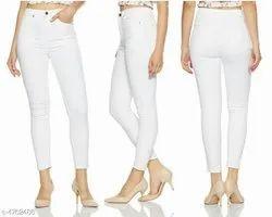 Women Casual Wear Deeva latest jeans, Waist Size: 32
