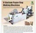 Em-pbm1018p Automatic Paper Bag Making Machine With Online Flexo Printing, Capacity: 400 Pcs Per Mi, 380