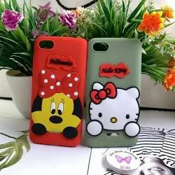 Girlish Case Plastic Hello Kitty Mobile Back Cover