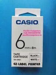 Casio XR-6WE1 Label Printer Tape