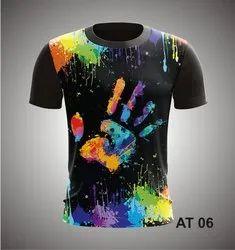 soft dryfit material Mix Holi T Shirt