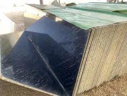 Rajasthan Black Markino Granite Slab, For Flooring, Thickness: 15-20 Mm
