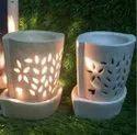 Lavender Ceramic Electric Aroma Oil Diffuser