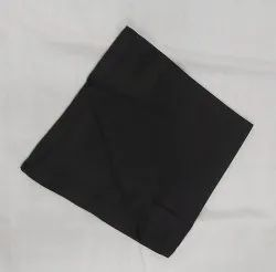 Dinner Napkin Black 4SS