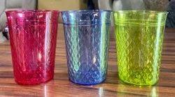 Fancy Plastic Glass, Size: 200 Ml