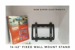 Fixed Metal Led Tv Wall Mount Brackets, Size: 14-42