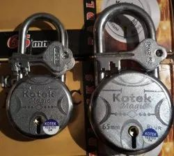 With Key Normal Round Padlock 50mm Double Locking