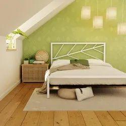 Smart furnture Multicolor Modern luxury steel bed, For Home