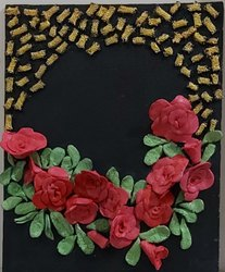 Mural Clay Art, For Wall Decoration, Size: 20 Cm * 25 Cm
