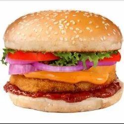 Veg Cheese Schezwan Burger