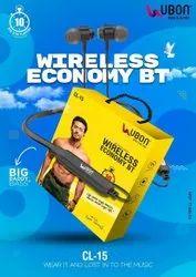 Wireless Mobile Ubon Bluetooth Earphone, Model Name/Number: CL-15