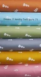 Cotton Lycra Printed Shirting Fabric For Men