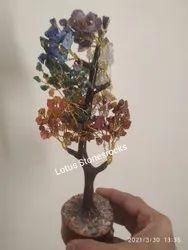 Seven Chakra Crystal Tree