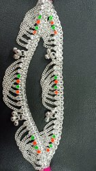 Silver Colour legchain eversilver, Size: 5 Inches To 11 Inches