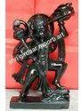 Black Marble Hanuman Ji Statue