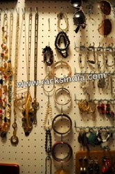 Pegboard for Fashion Jewellery