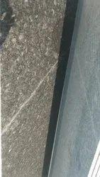 Steel Grey Granite Slabs, Randam, Thickness: 15 To 20mm