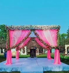 All Types Of Decorations Are Done For The Marriage Function.