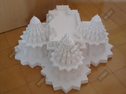 MNSN Marble Temple Miniature for Decoration