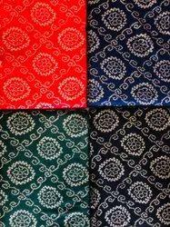 Reyon Gold Printed Bandhej Design Febric