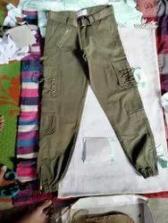 Solid Regular Fit Men 6 Pockets Cargo Shorts And Pants, Machine Wash