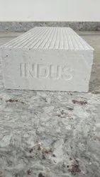 Rectangular Gray Lightweight Cement Bricks, Size: 6In X 8 In X 2 feet