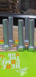 Mild Steel 14mm bolt 4.6grade, Size: 14 Length 14 Mm To 300mm