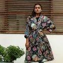 Cotton Kimono Dress
