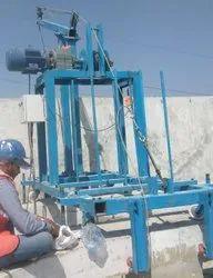 IROTECH INDIA Glass Lifting winch crane