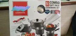 Harivansh Aluminium Cookware Set