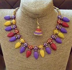 Fair eDeals Handmade Hand-painted Fashion Jewelry - Teracotta