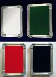 White, Green, Pin Board, Black