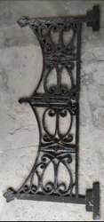 Black Cast Iron Railing Grill, For Residential