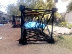 Security Watch Tower Fabrication Work